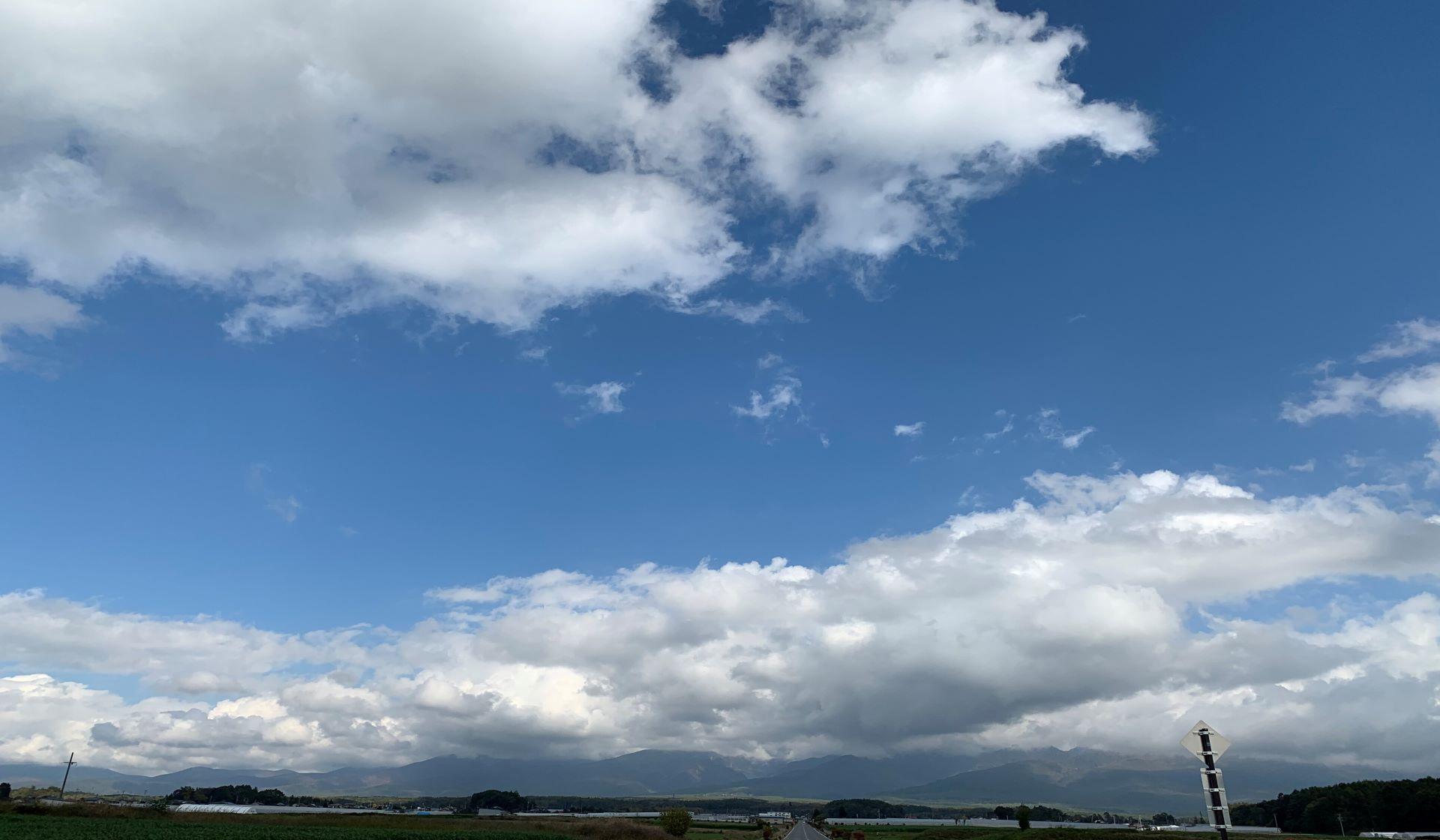 小淵沢にあるハーブ農園からの素晴らしい眺め